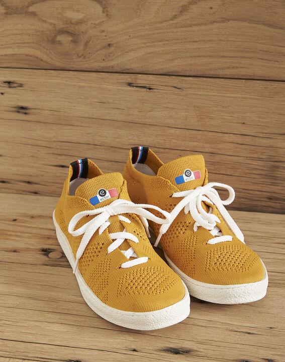 Baskets tricotées jaune Ector (1) - Maison 123