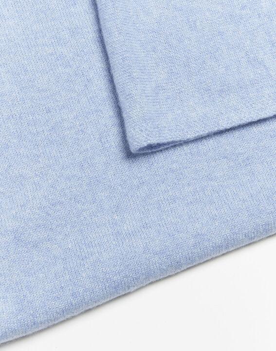 Felicia azure cashmere scarf (2) - 1-2-3