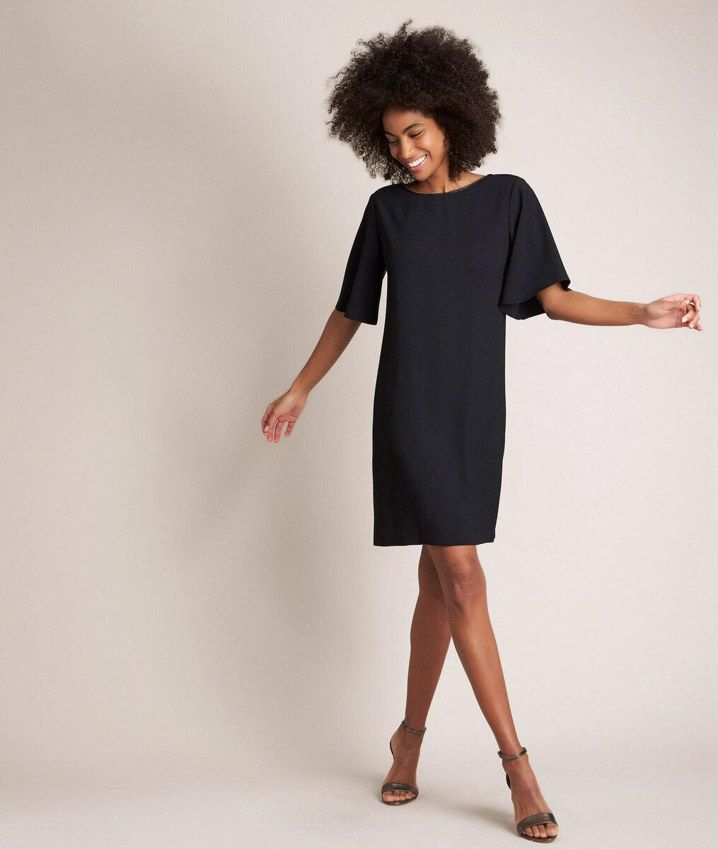Robe Noire Droite Celia Femme Maison 123
