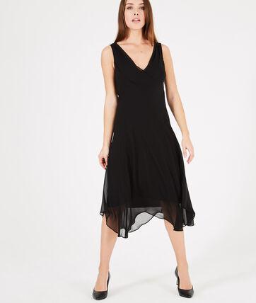 robe longue noire dansante foret 123. Black Bedroom Furniture Sets. Home Design Ideas