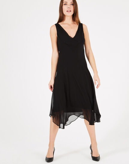 Foret long black dance dress PhotoZ | 1-2-3