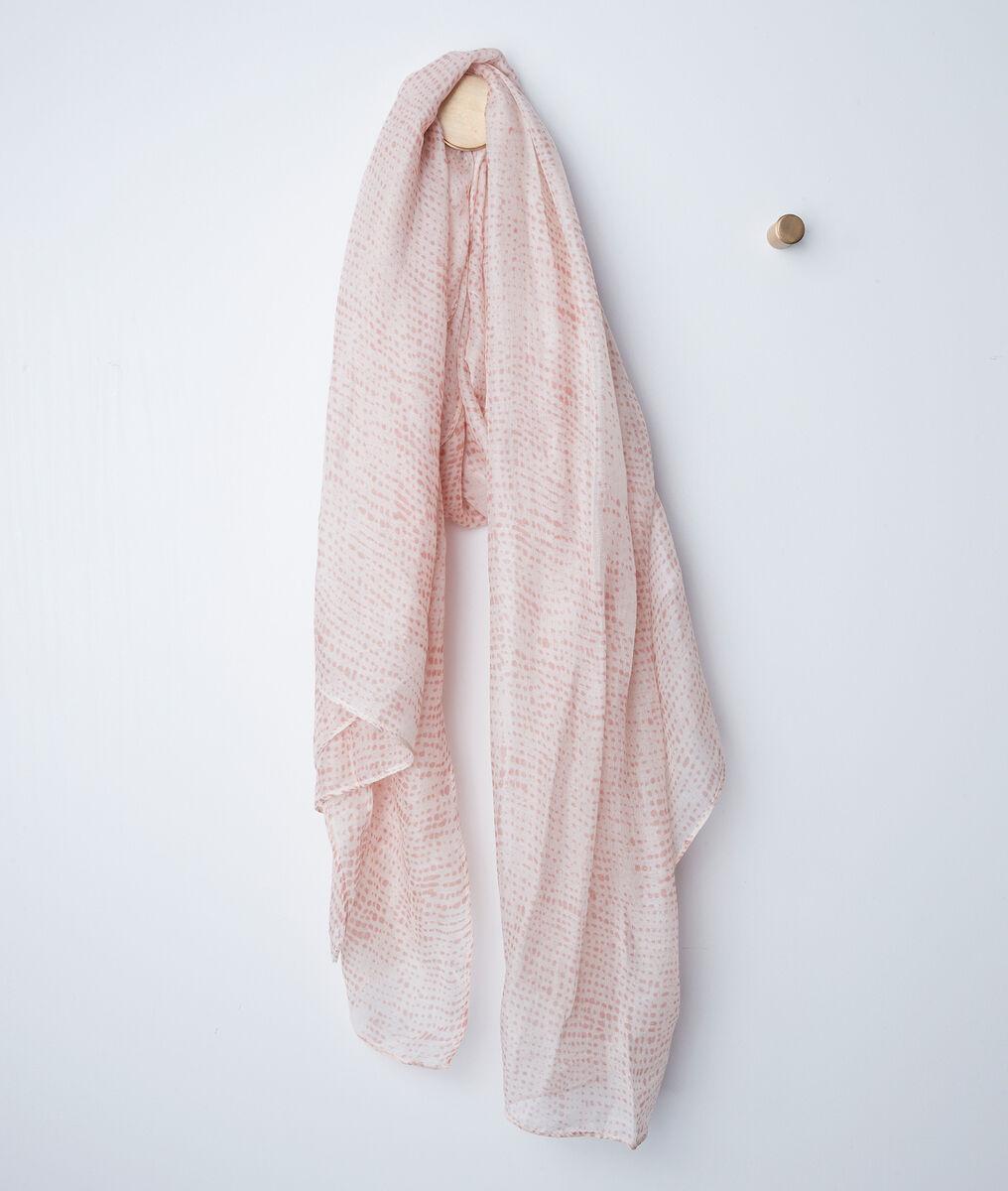 Foulard rose à pois helia - 123 - Modalova