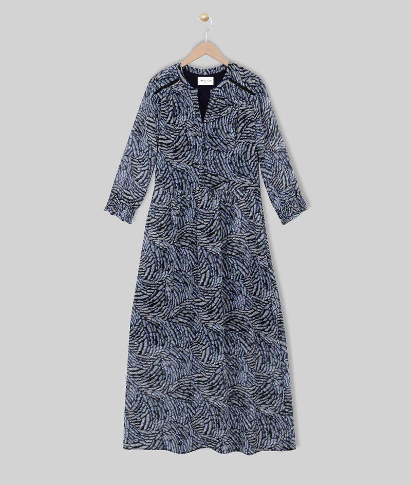 Robe longue imprimée Libra PhotoZ | 1-2-3