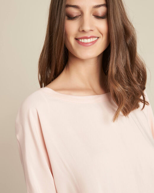 Guillem nude blouse with bow at the back (1) - 1-2-3