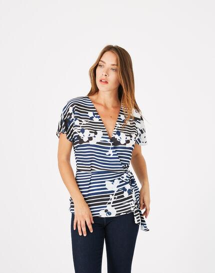 Dereck printed blouse (3) - 1-2-3