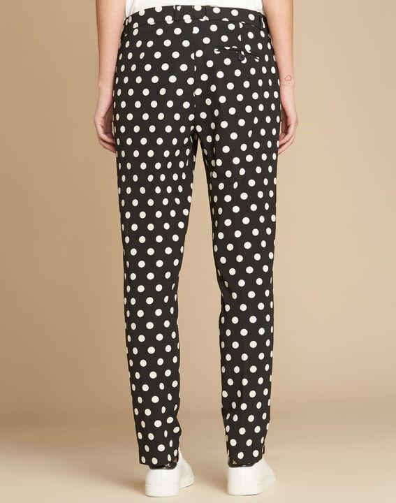 Valero polka dot tapered trousers (4) - 1-2-3