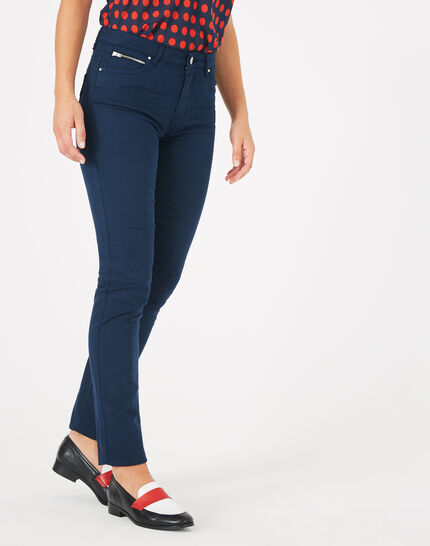 Pantalon bleu slim William (3) - 1-2-3