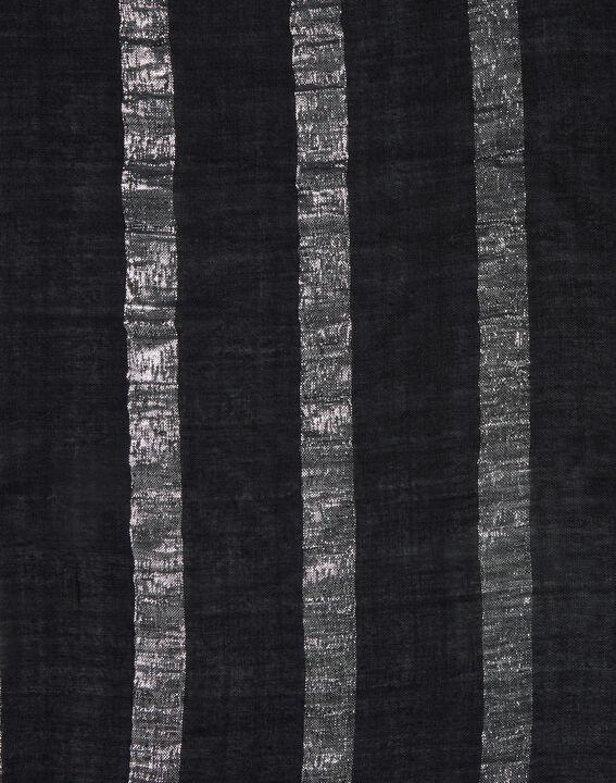 Erina metallic black stole (2) - 1-2-3