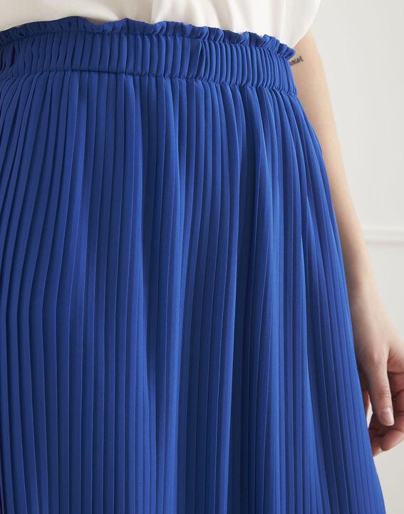 Jupe bleue plissée Sofia (3) - Maison 123