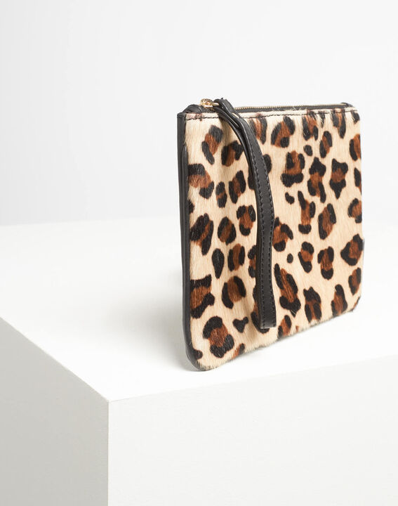 Droopy leopard print clutch with leather straps (4) - 1-2-3