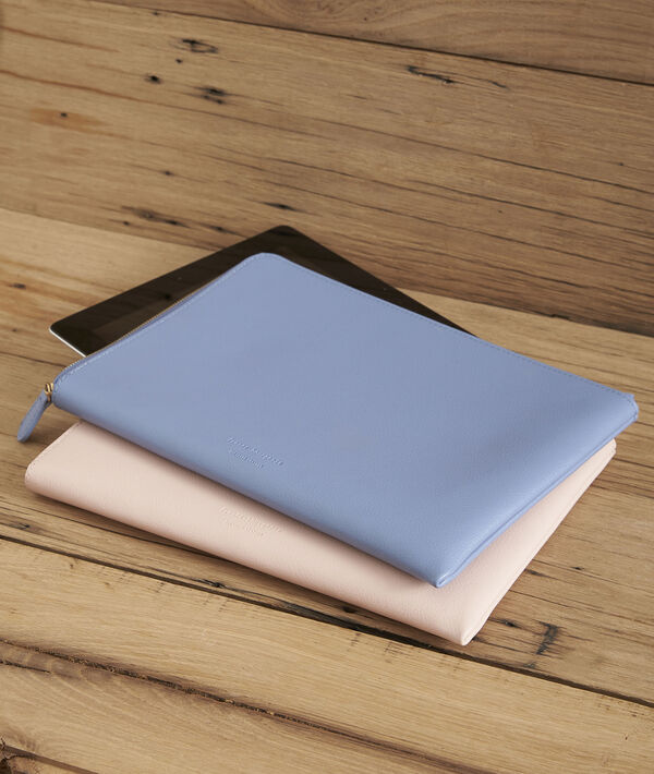 Housse Ipad rose pâle Brooklyn PhotoZ | 1-2-3