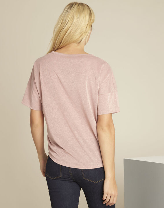 Tee-shirt rose lurex Galway (4) - 1-2-3