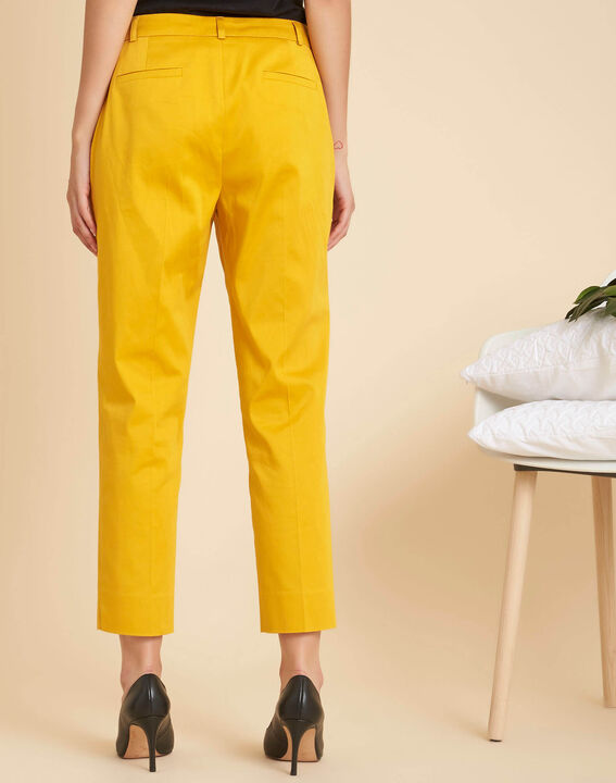 Rubis 7/8 length yellow trousers (4) - 1-2-3