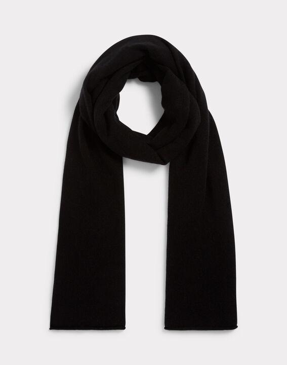 Echarpe noire en cachemire Tournesol (1) - 1-2-3 ... 7b72c7008b6