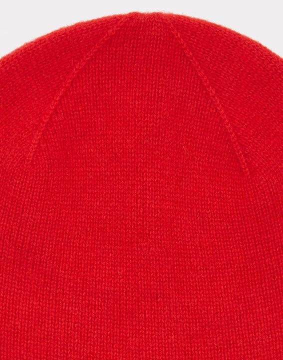 Bonnet rouge en cachemire Tilleul (2) - 1-2-3