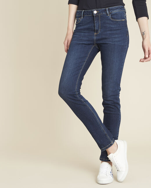 Marineblauwe slim fit jeans Vendôme (2) - 37653