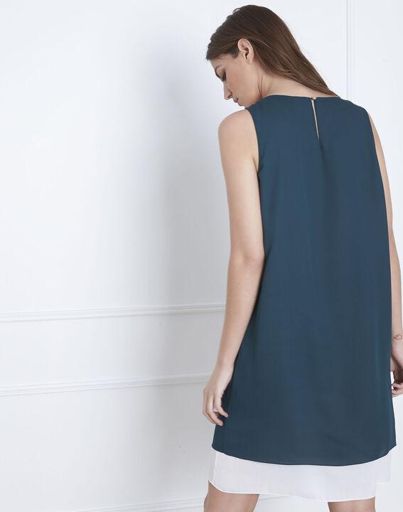 Groene jurk met lurex details Isola (4) - Maison 123