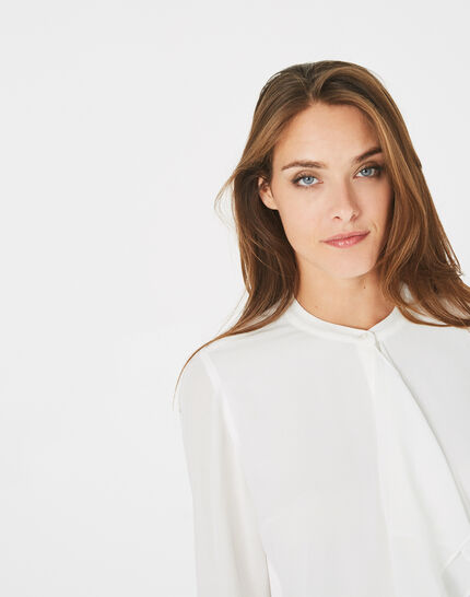 Danika off-white frilly blouse (3) - 1-2-3