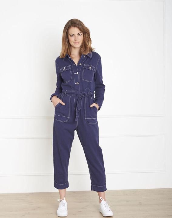 Combinaison indigo en coton Lana (1) - Maison 123