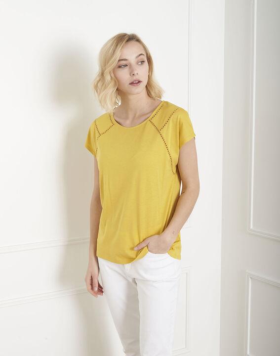 Tee-shirt jaune jour échelle Provence (2) - Maison 123
