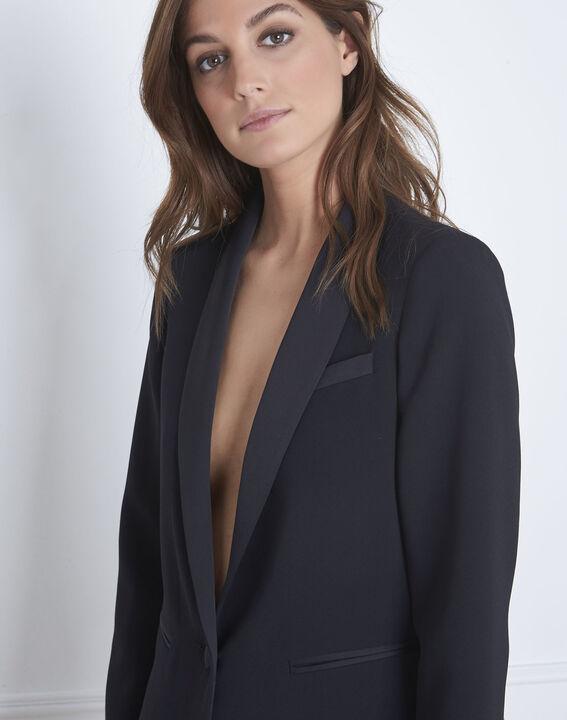 Veste noire tailleur Sabrina (3) - 1-2-3