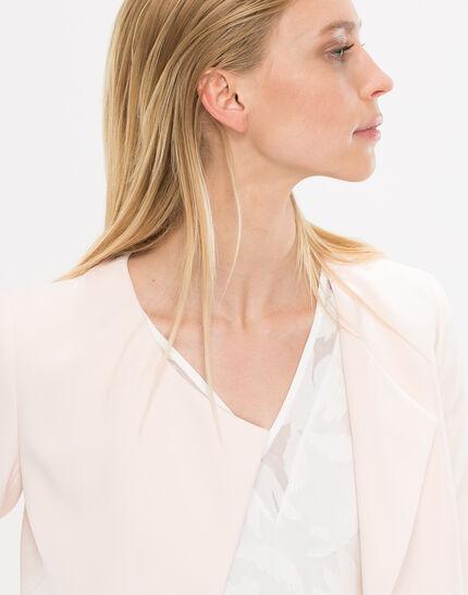 Lili pale pink cropped jacket (5) - 1-2-3