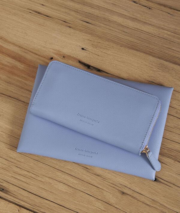 Hemelsblauwe portefeuille Leman PhotoZ | 1-2-3