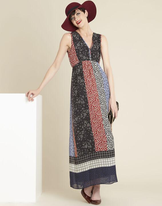 Lange jurk met bloemenprint Dotty (3) - 37653
