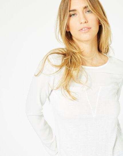 Paloma off-white cashmere mix sweater (2) - 1-2-3