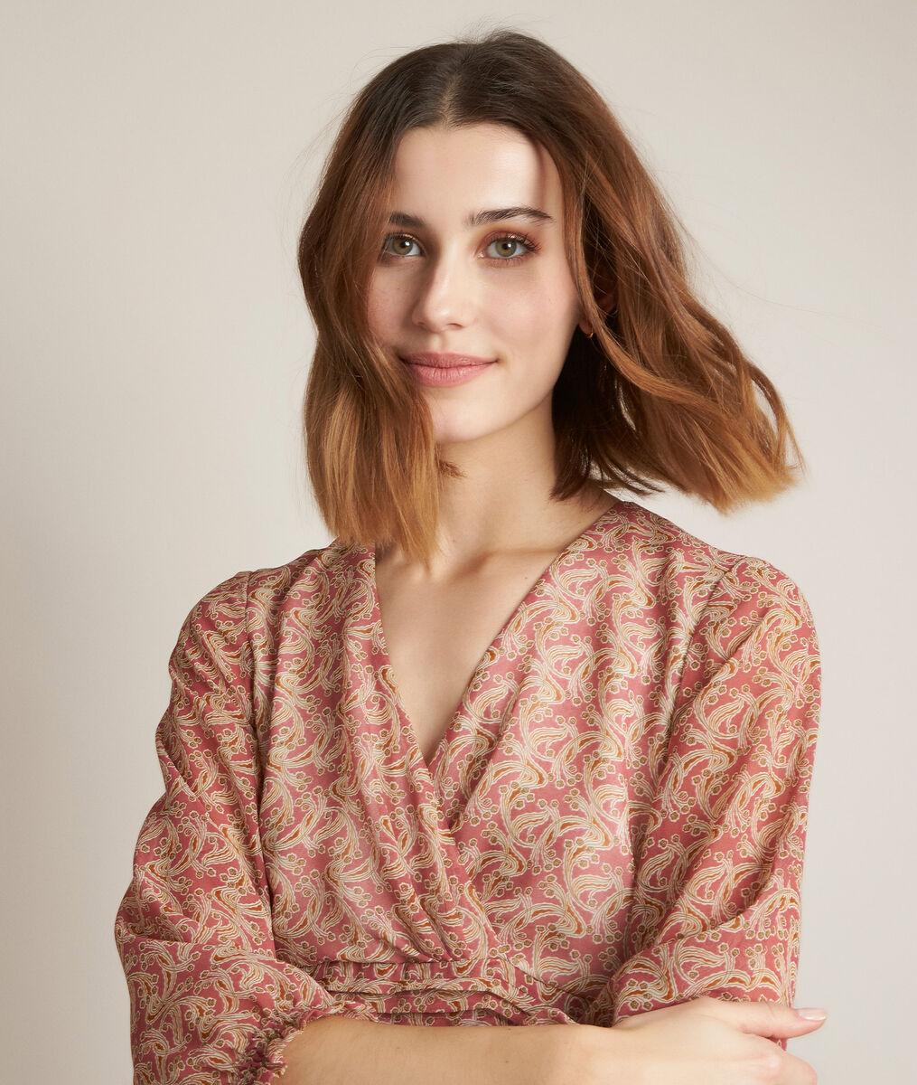 Robe imprimée Cleopatre PhotoZ | 1-2-3