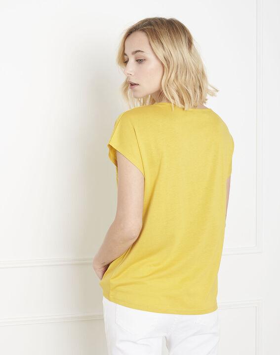 Tee-shirt jaune jour échelle Provence (4) - Maison 123