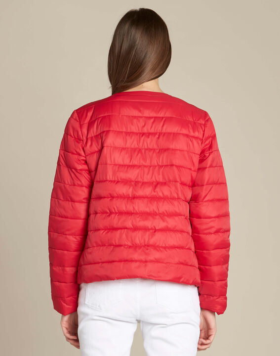 Yvana fine red quilted jacket (4) - 1-2-3