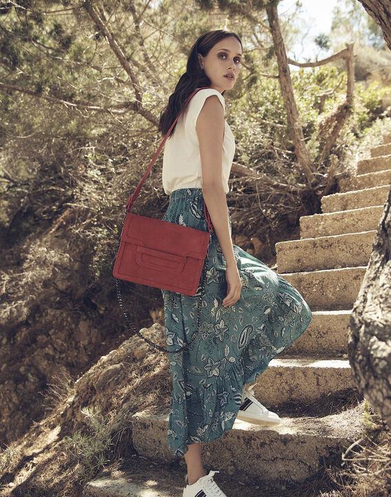 123 - Die emblematische Tasche in Korallenrot (5) - Maison 123