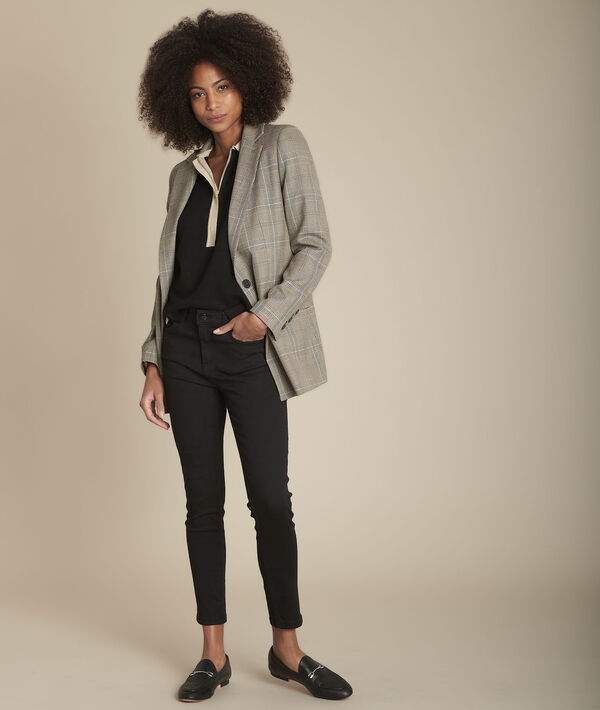 L'Audacieux skinny :  jean noir Sally PhotoZ | 1-2-3