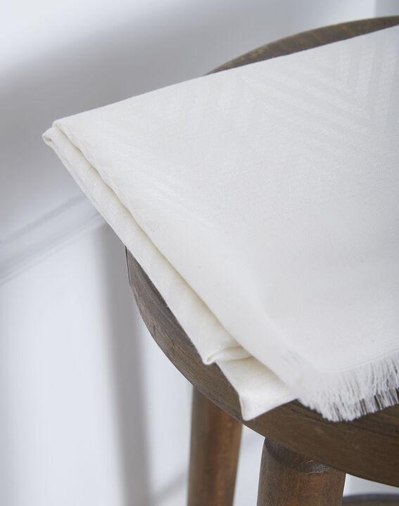 Foulard blanc irisé Osiris PhotoZ | 1-2-3