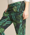 Scotty flowing trousers with leaf print PhotoZ | 1-2-3