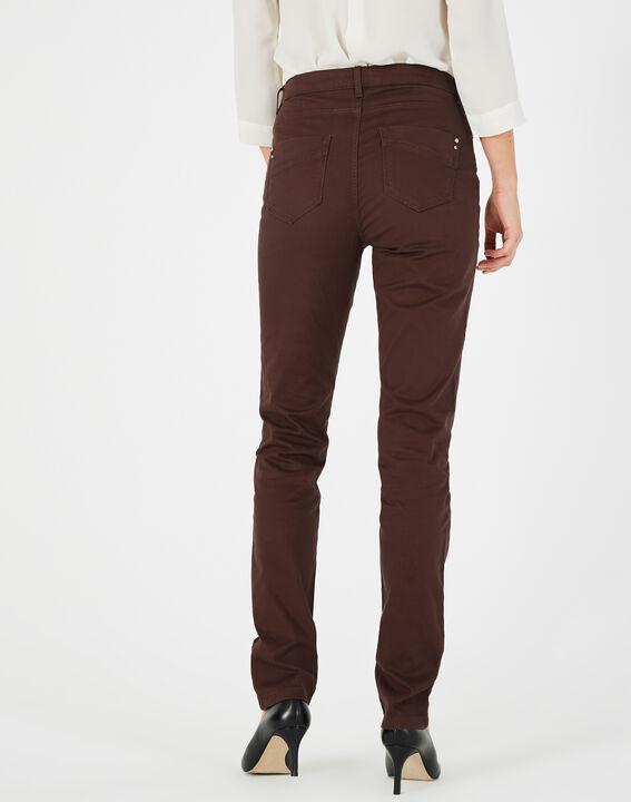 William slim-cut chocolate jeans (4) - 1-2-3