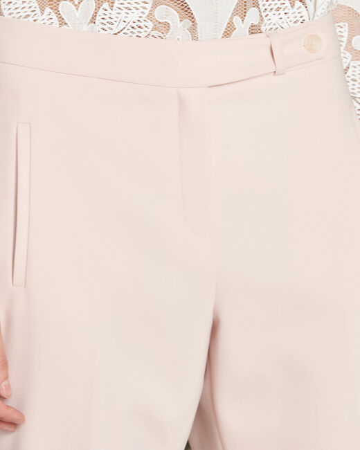 Pantalon nude de tailleur slim Lara (2) - 1-2-3