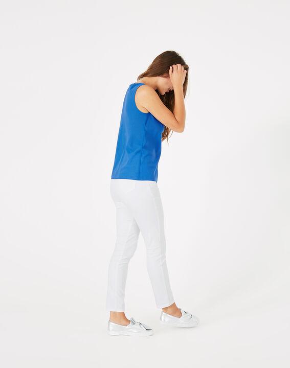 Top bleu roi col bénitier Daisy (5) - 1-2-3
