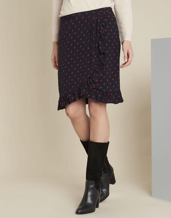 Anis navy polka dot ruffle skirt PhotoZ | 1-2-3
