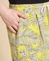 Short jaune imprimé Salma (1) - 1-2-3
