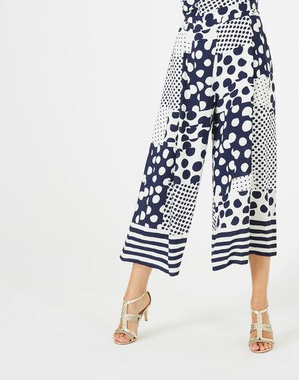 Amande cropped printed jumpsuit (3) - 1-2-3