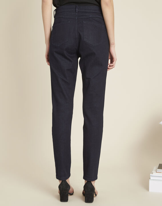 Honore raw-denim 7/8 length fitted jeans (4) - 1-2-3