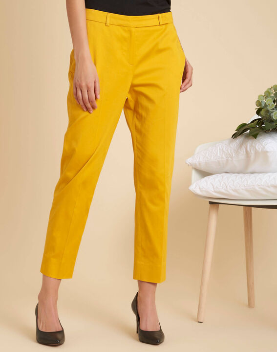 Rubis 7/8 length yellow trousers (3) - 1-2-3