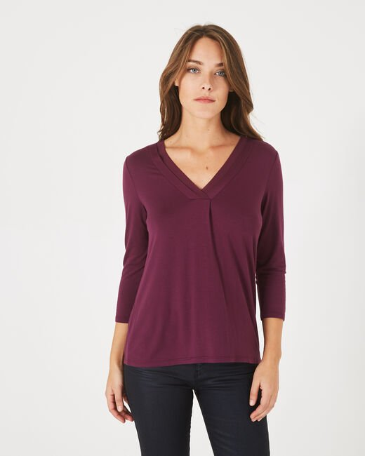 Barbara dark purple T-shirt (1) - 1-2-3