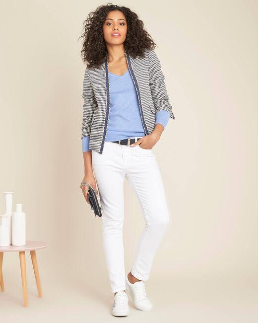 Carmela houndstooth print jacket (1) - 1-2-3