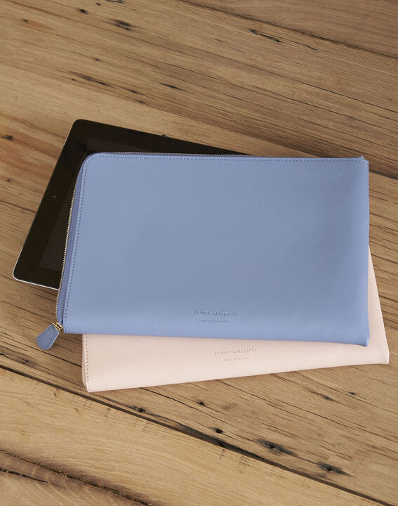 Housse Ipad bleu ciel Brooklyn PhotoZ | 1-2-3