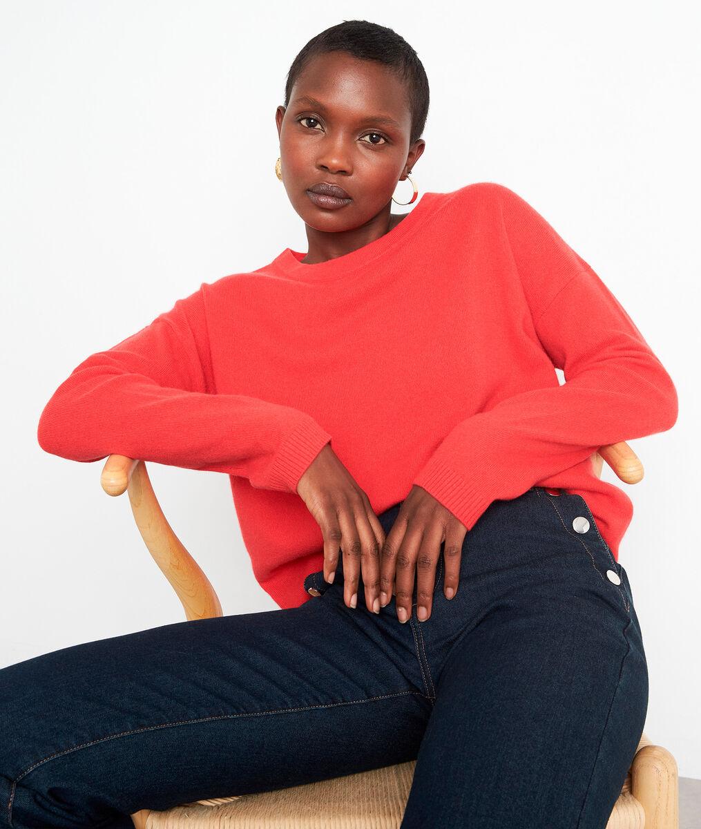 Rode trui van kasjmier Timeo PhotoZ | 1-2-3