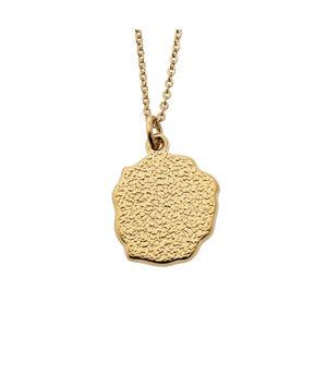 Collier médaille pépite or Bijoux Léone