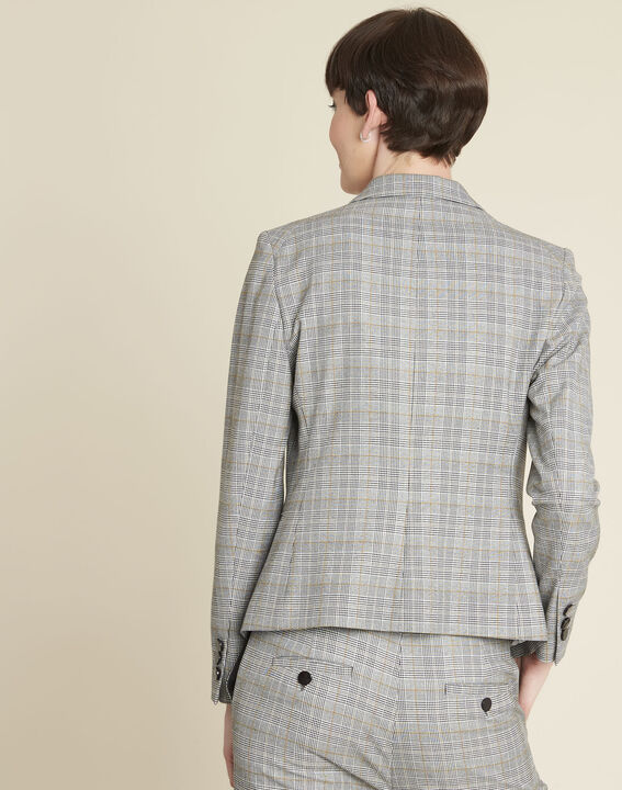 Grey Jacket with Prince of Wales design (4) - 1-2-3